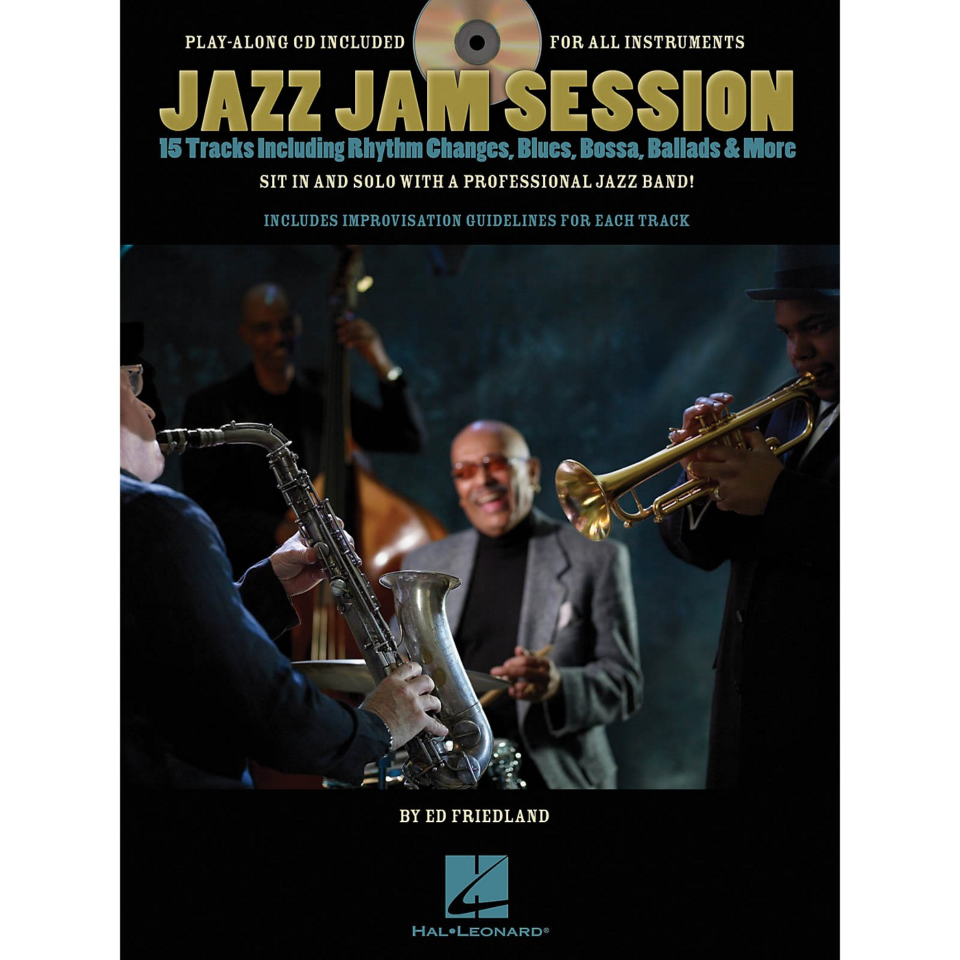 Hal Leonard Jazz Jam Session Jam Trax Series Softcover with CD Written by Ed Friedland thumbnail