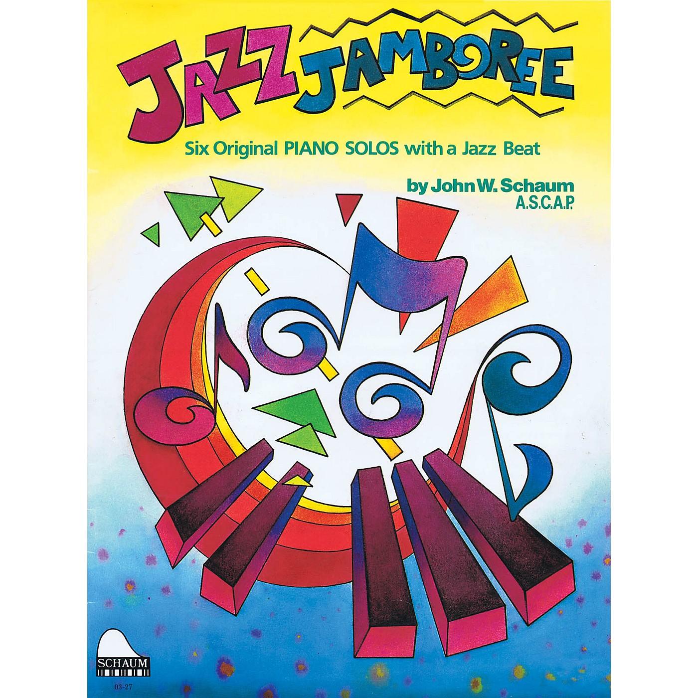 SCHAUM Jazz Jamboree Educational Piano Series Softcover thumbnail
