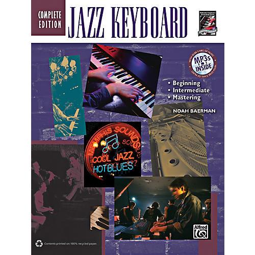Alfred Jazz Keyboard Method Complete Book & CD thumbnail