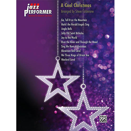 Alfred Jazz Performer: A Cool Christmas Early Advanced Piano Book thumbnail