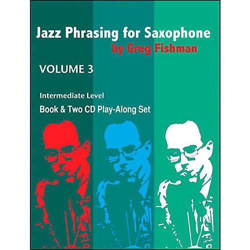 Jamey Aebersold Jazz Phrasing For Saxophone Vol.3-thumbnail