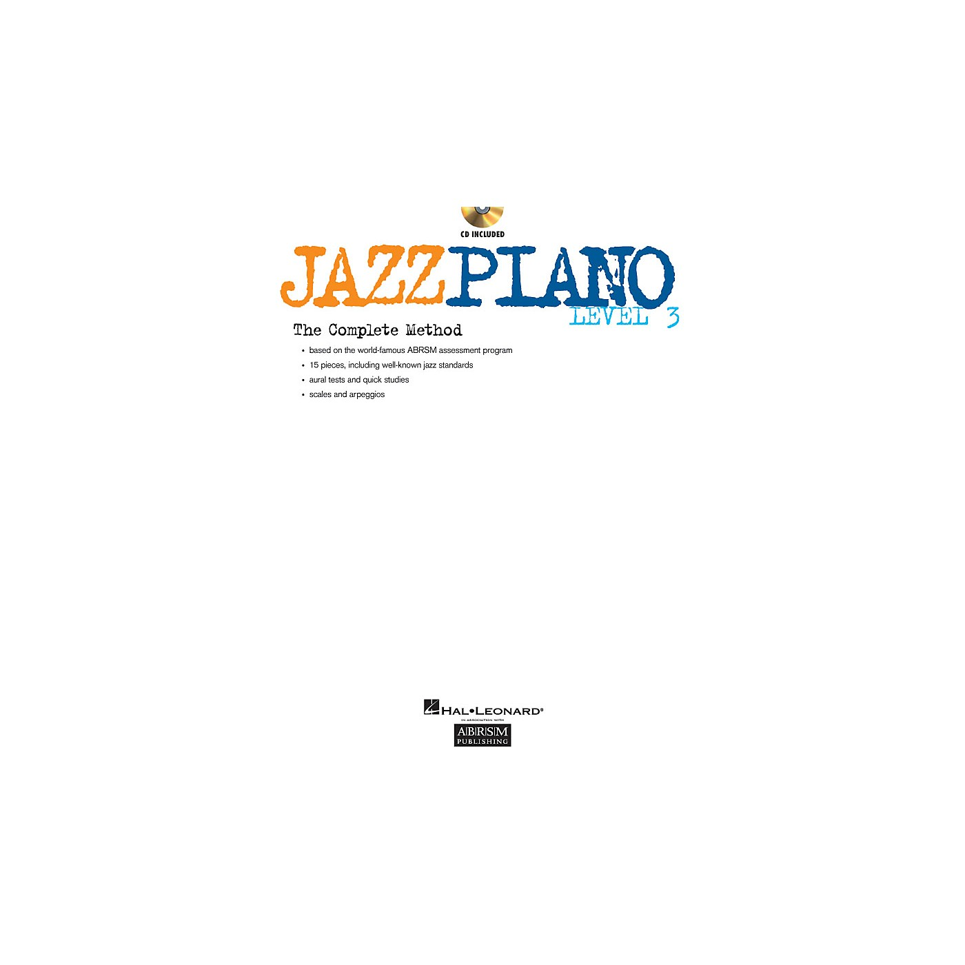 ABRSM Jazz Piano - Level 3 (Level 3) Instructional Series Softcover with CD Written by Various Authors thumbnail
