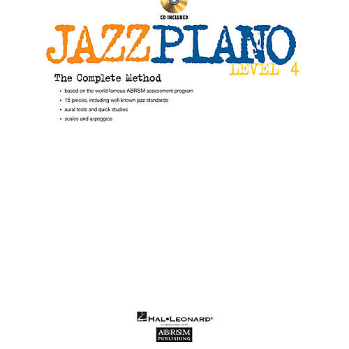 ABRSM Jazz Piano - Level 4 (Level 4) Instructional Series Softcover with CD Written by Various Authors thumbnail