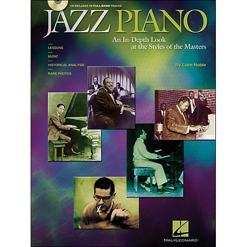 Hal Leonard Jazz Piano Book/CD An In-Depth Look At The Styles Of The Masters thumbnail