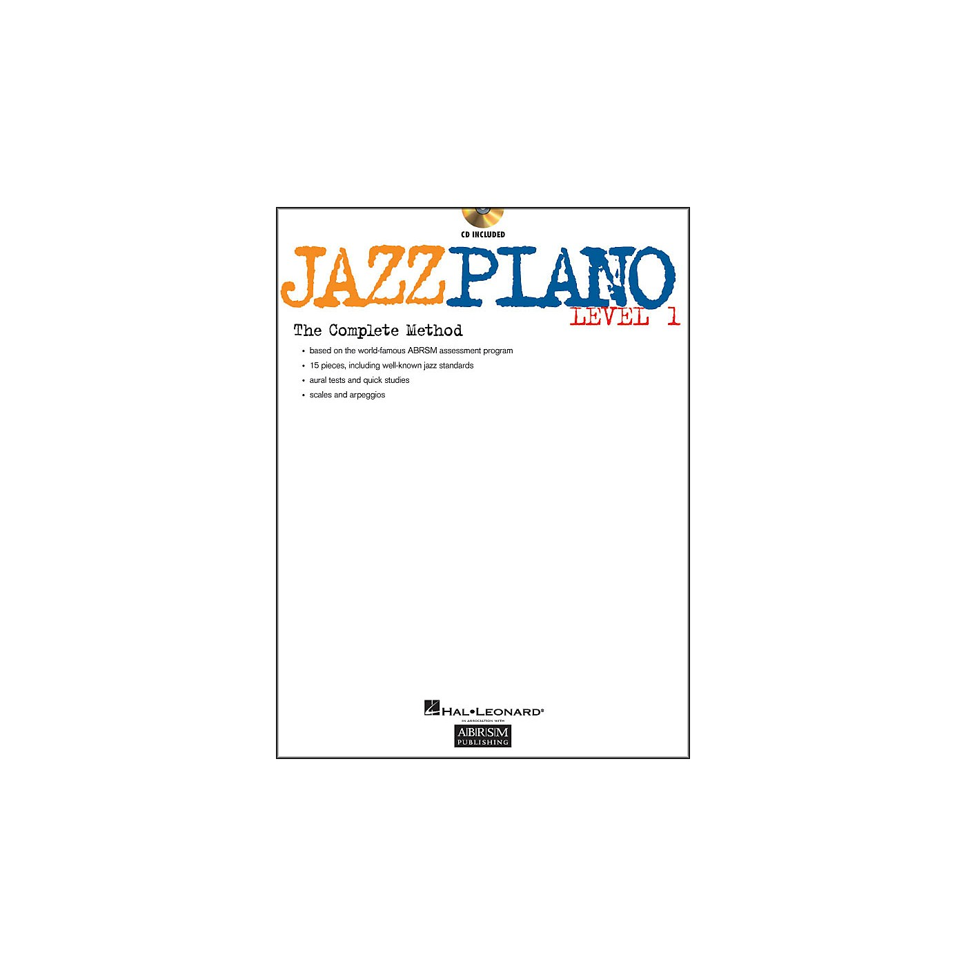 Hal Leonard Jazz Piano Level 1 Book/CD Abrsm thumbnail