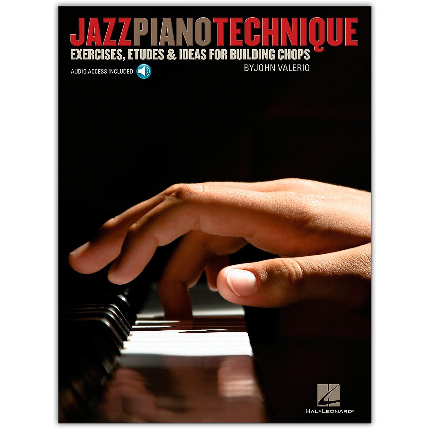 Hal Leonard Jazz Piano Technique - Exercises, Etudes & Ideas For Building Chops (Book/Online Audio) thumbnail