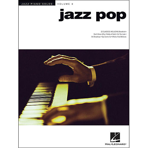 Hal Leonard Jazz Pop - Jazz Piano Solos Series Volume 8 thumbnail