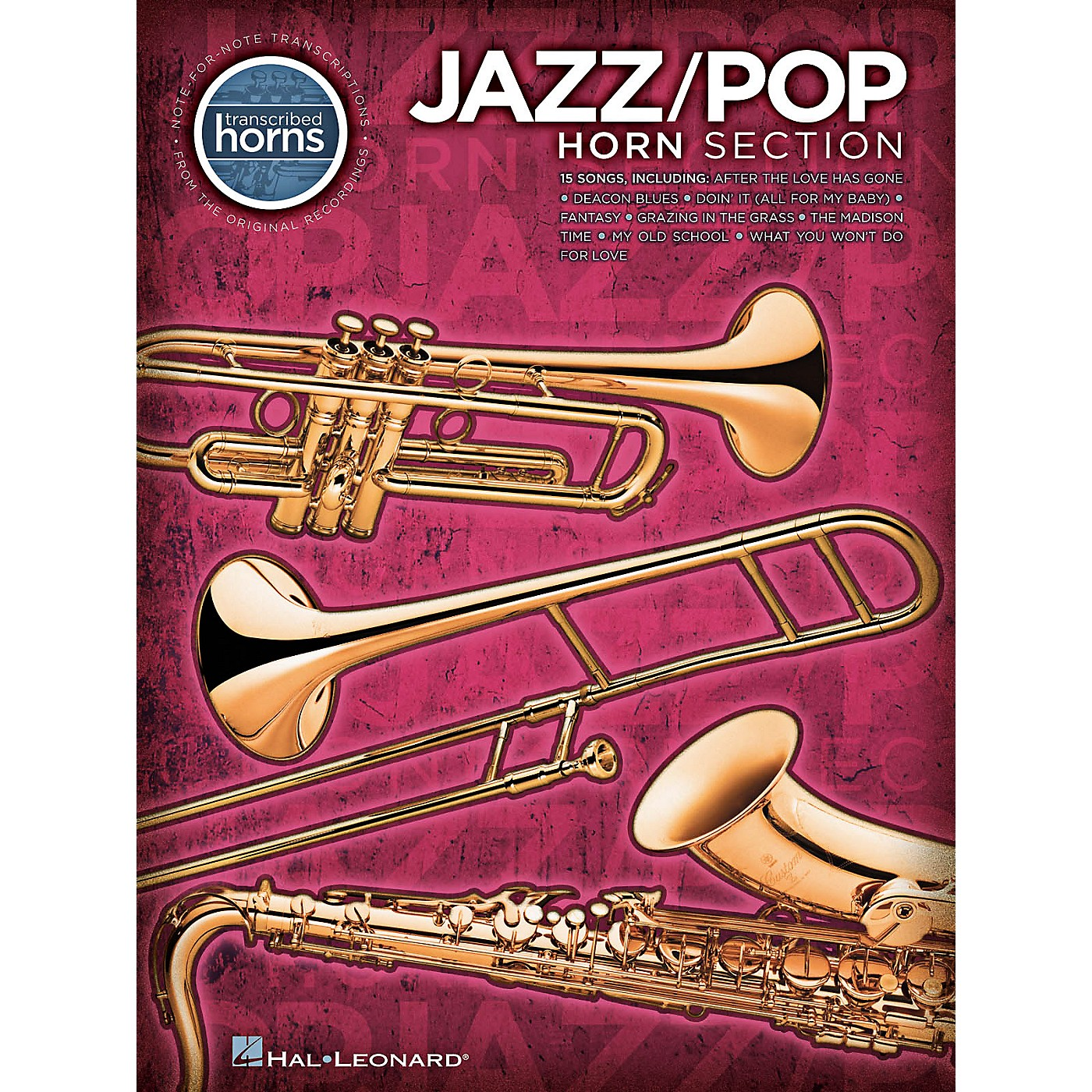 Hal Leonard Jazz/Pop Horn Section - Transcribed Horn Songbook thumbnail