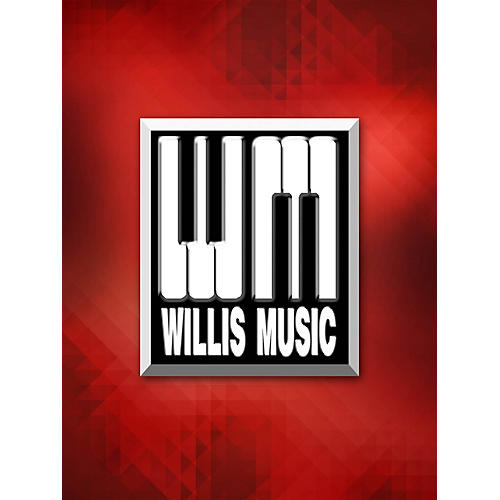 Willis Music Jazz Prelude (1 Piano, 4 Hands/Mid-Inter Level) Willis Series by William Gillock thumbnail