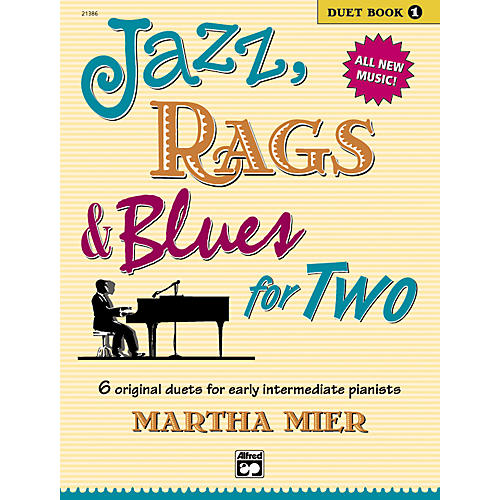 Alfred Jazz Rags & Blues for Two Book 1-thumbnail
