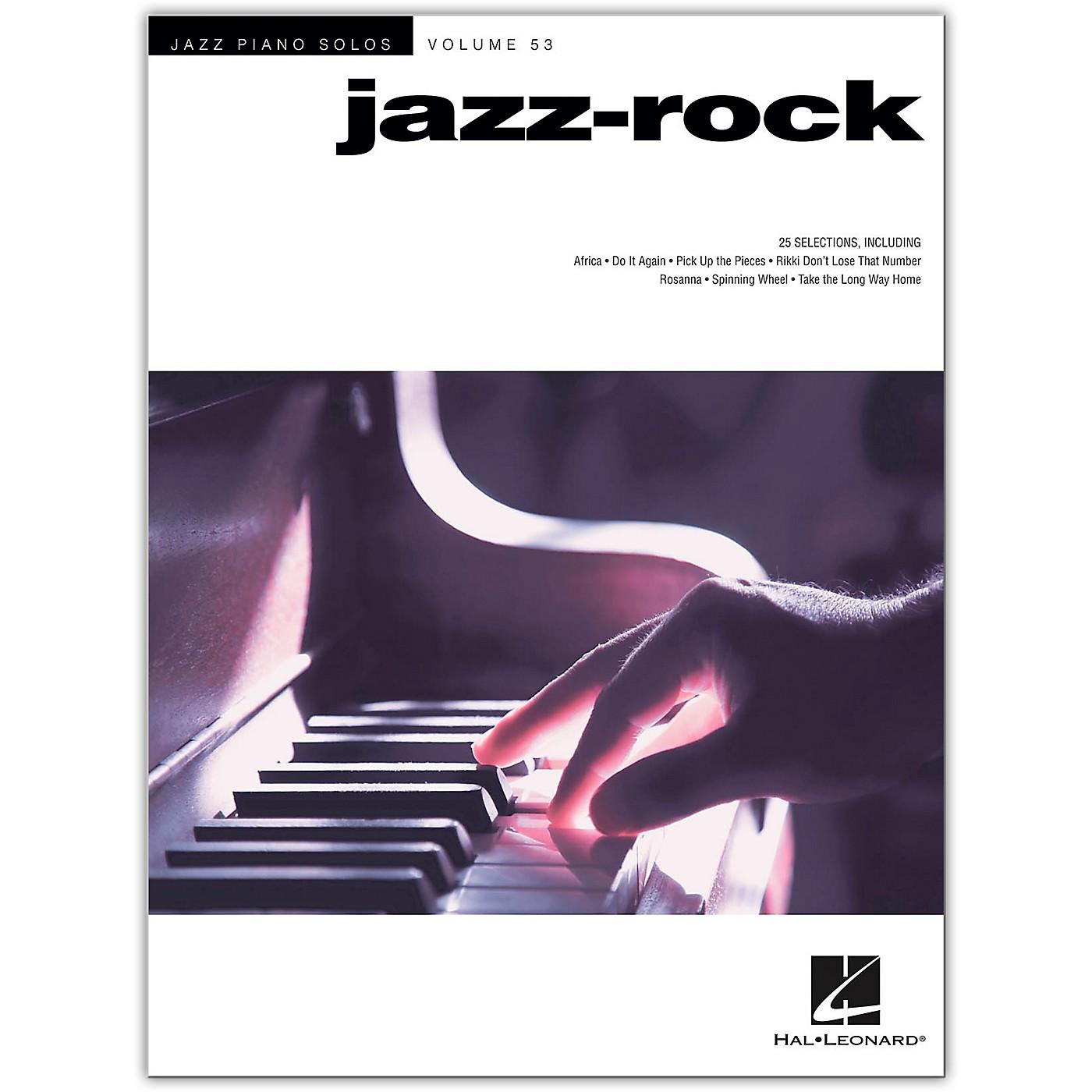 Hal Leonard Jazz-Rock - Jazz Piano Solos Series Volume 53 for solo piano thumbnail
