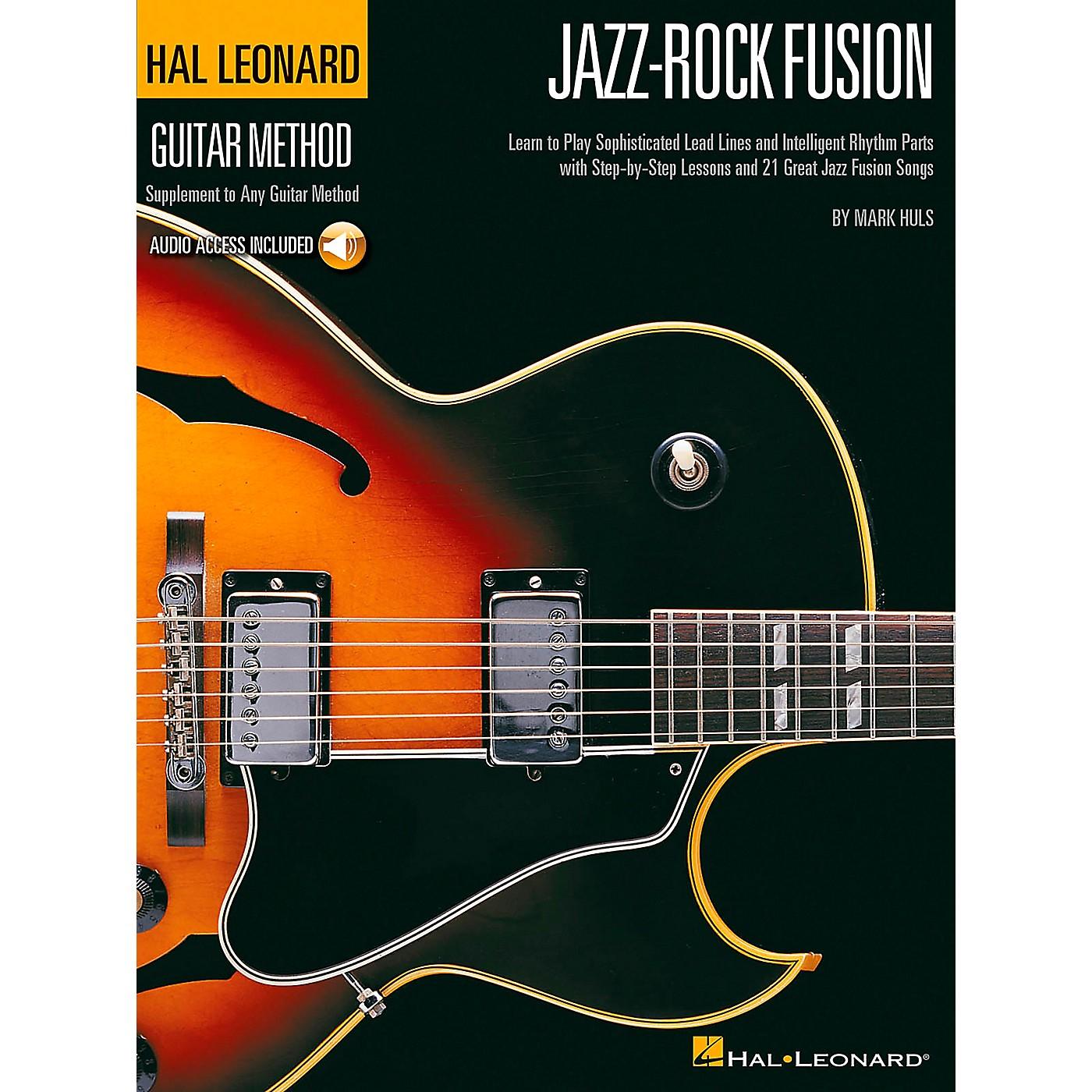Hal Leonard Jazz-Rock Fusion Guitar Stylistic Supplement To The Hal Leonard Guitar Method Book/CD thumbnail