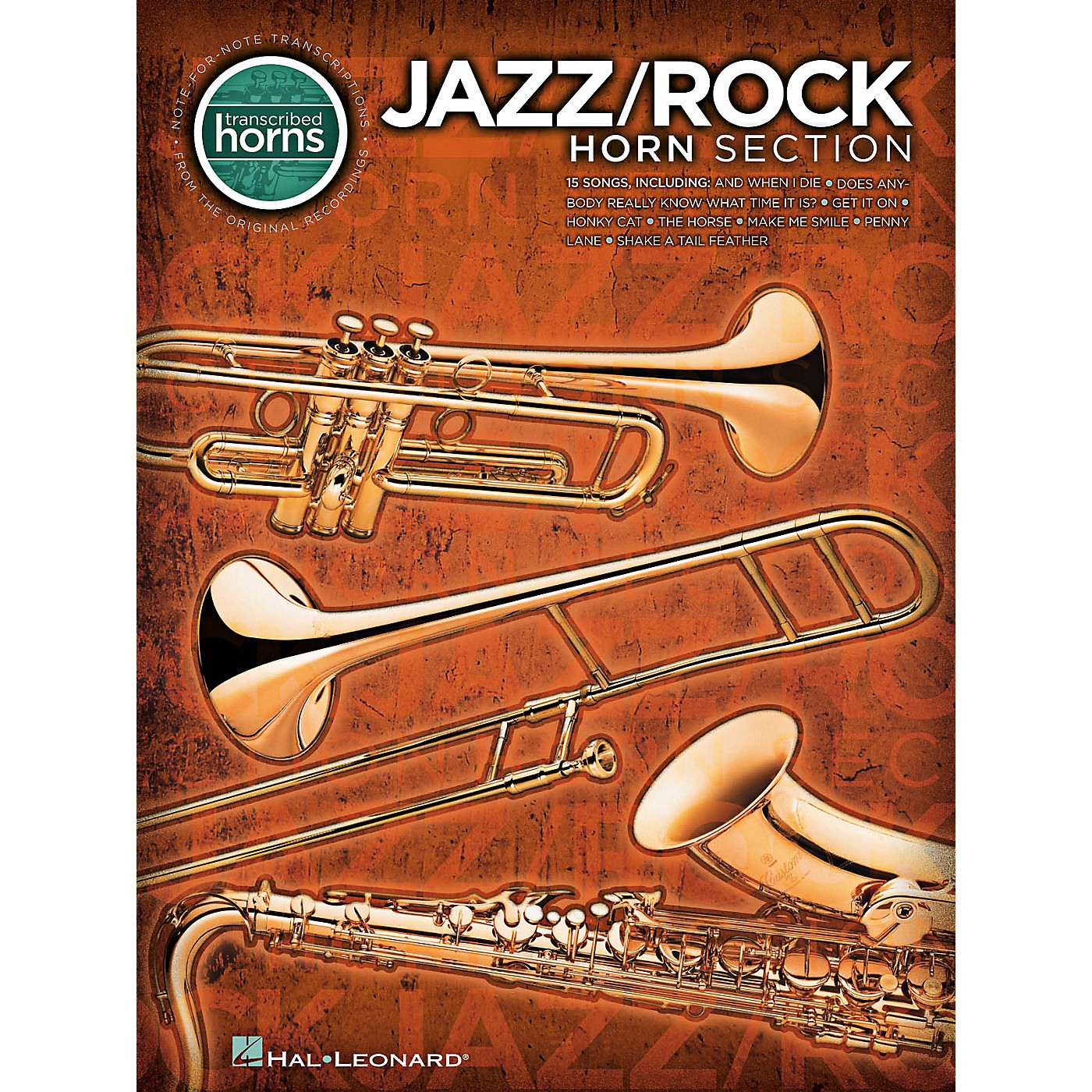 Hal Leonard Jazz/Rock Horn Section - Transcribed Horn Songbook thumbnail
