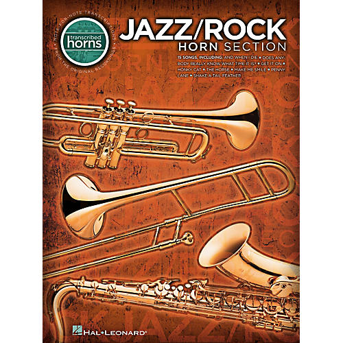 Hal Leonard Jazz/Rock Horn Section - Transcribed Horn Songbook thumbnail