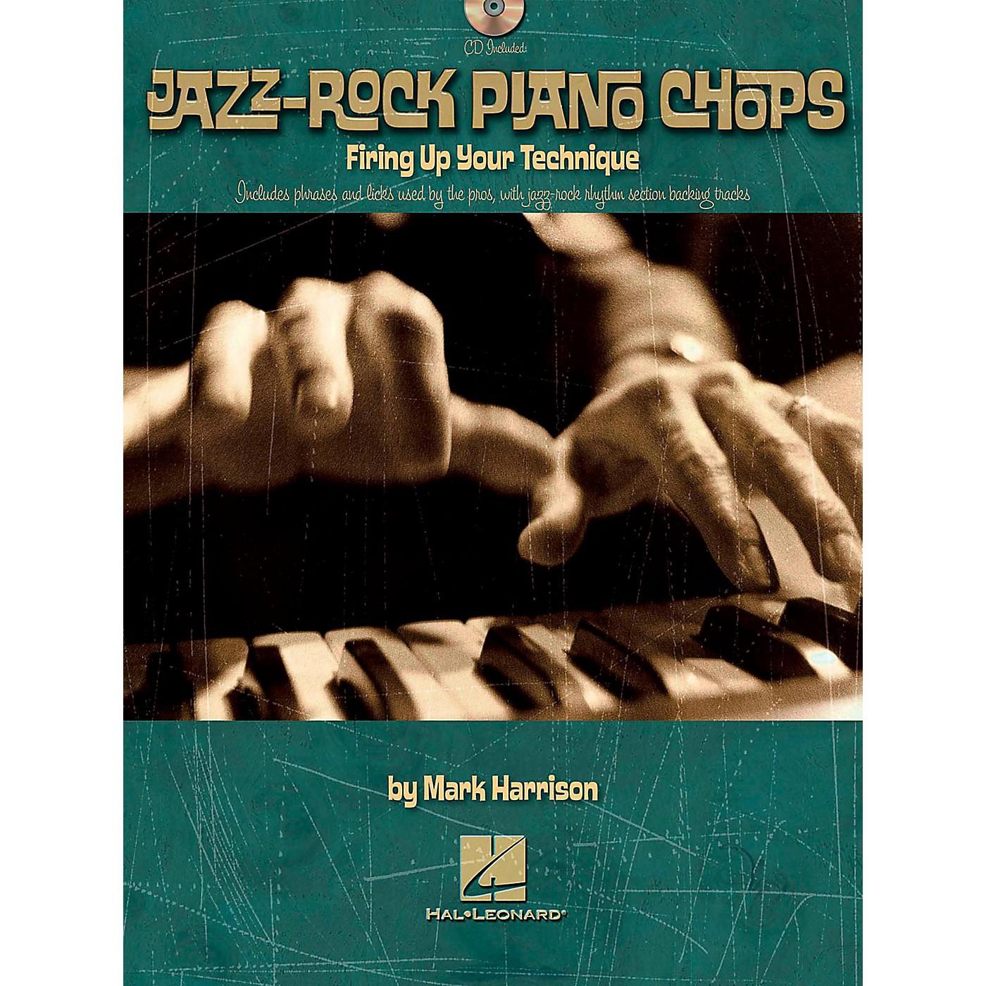 Hal Leonard Jazz-Rock Piano Chops - Firing Up Your Technique Book/CD thumbnail