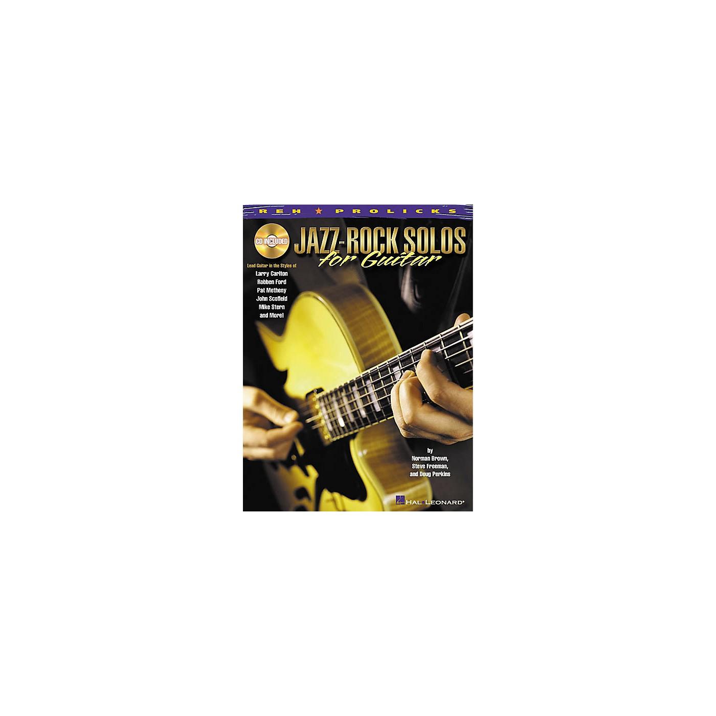 Hal Leonard Jazz-Rock Solos for Guitar (Book/CD) thumbnail