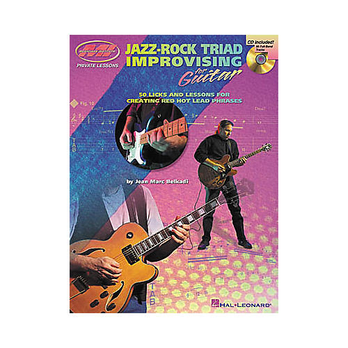 Musicians Institute Jazz-Rock Triad Improvising for Guitar (Book/CD) thumbnail