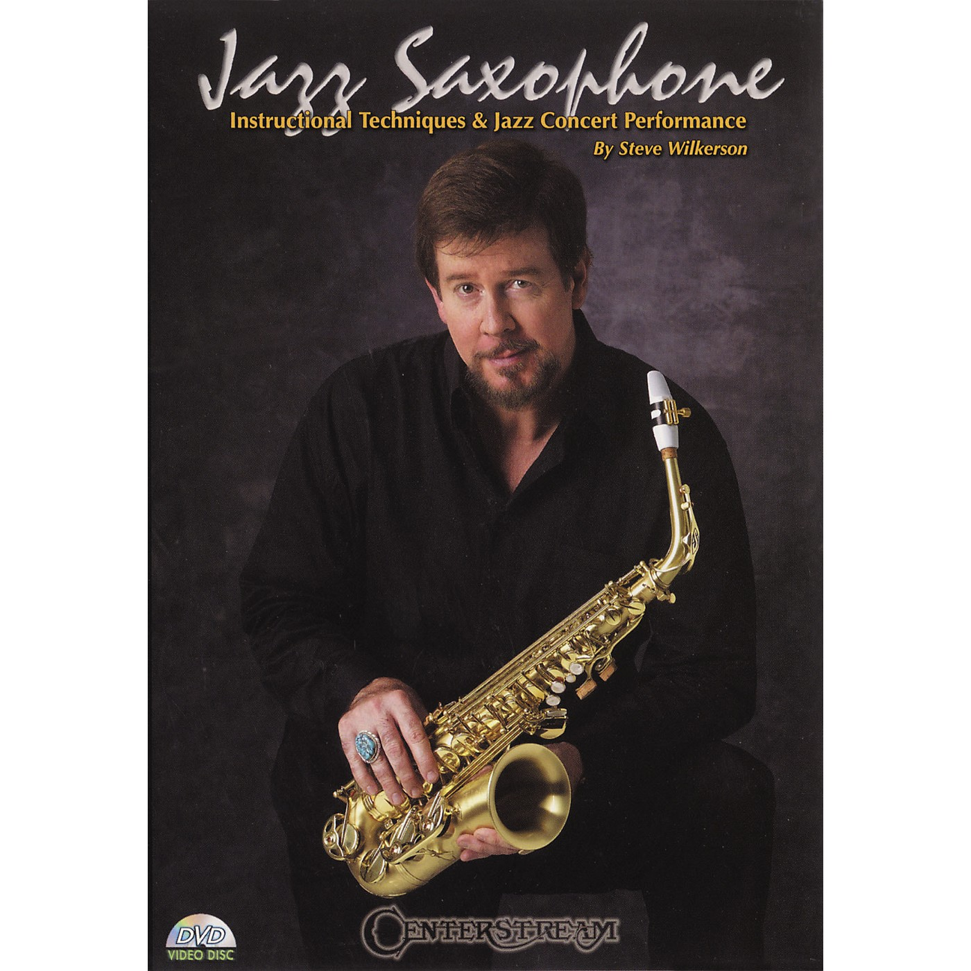 Centerstream Publishing Jazz Saxohone - Instructional Techniques and Jazz Concert Performance (DVD) thumbnail