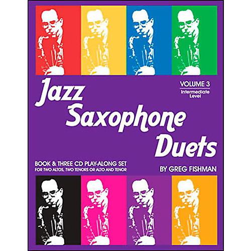 Jamey Aebersold Jazz Saxophone Duets Vol. 3 thumbnail