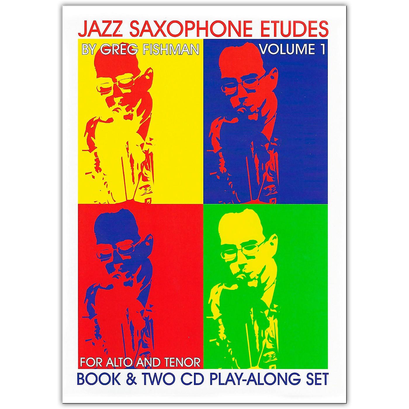 Jamey Aebersold Jazz Saxophone Etudes thumbnail