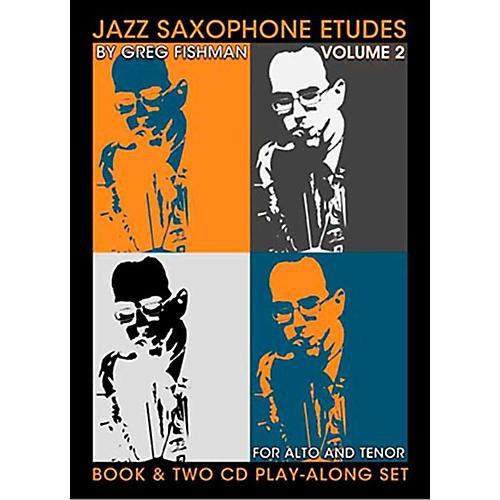 Jamey Aebersold Jazz Saxophone Etudes Vol. 2 thumbnail