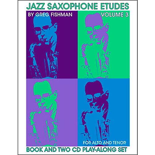 Jamey Aebersold Jazz Saxophone Etudes Vol. 3 thumbnail