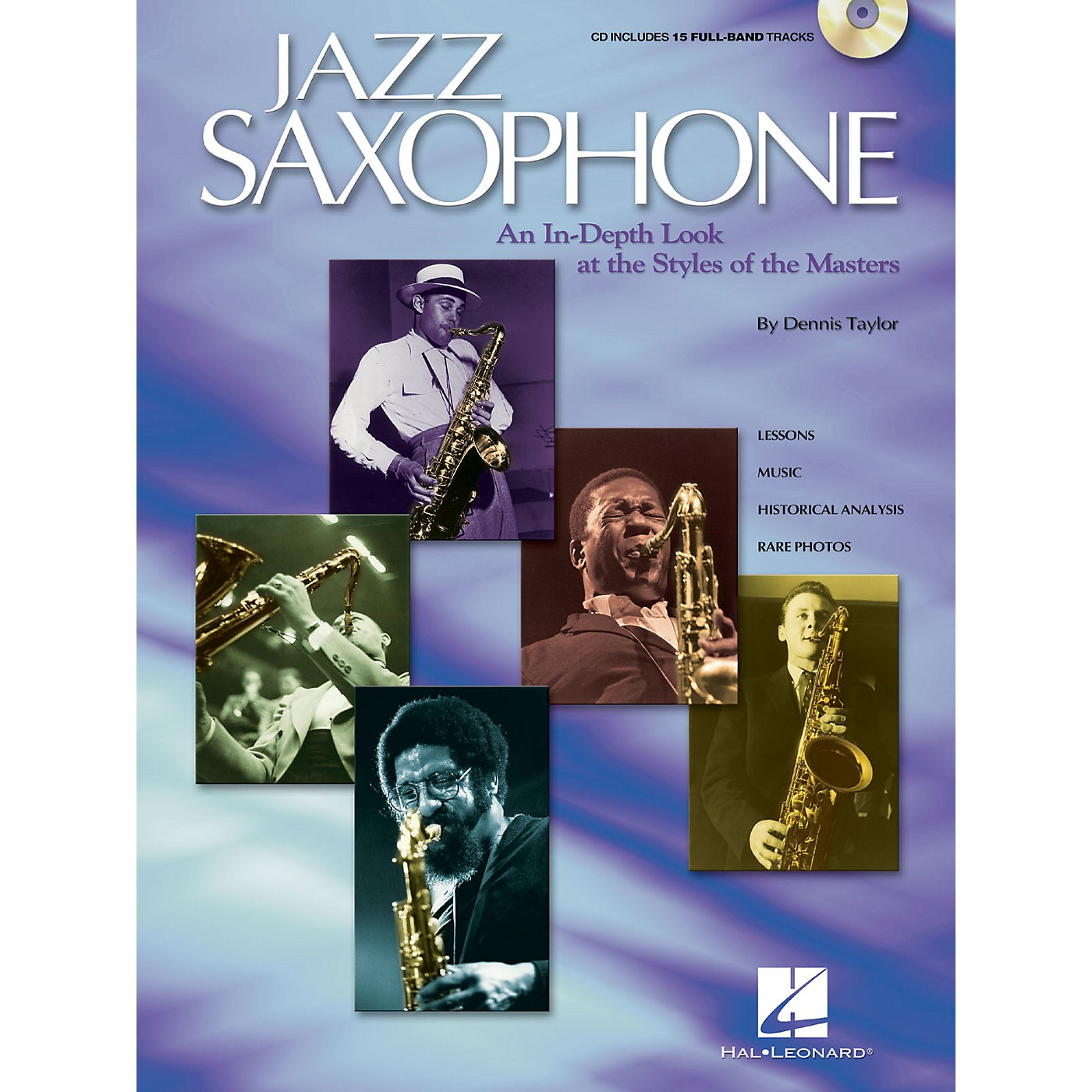 Hal Leonard Jazz Saxophone Sax Instruction Series Softcover with CD Written by Dennis Taylor thumbnail