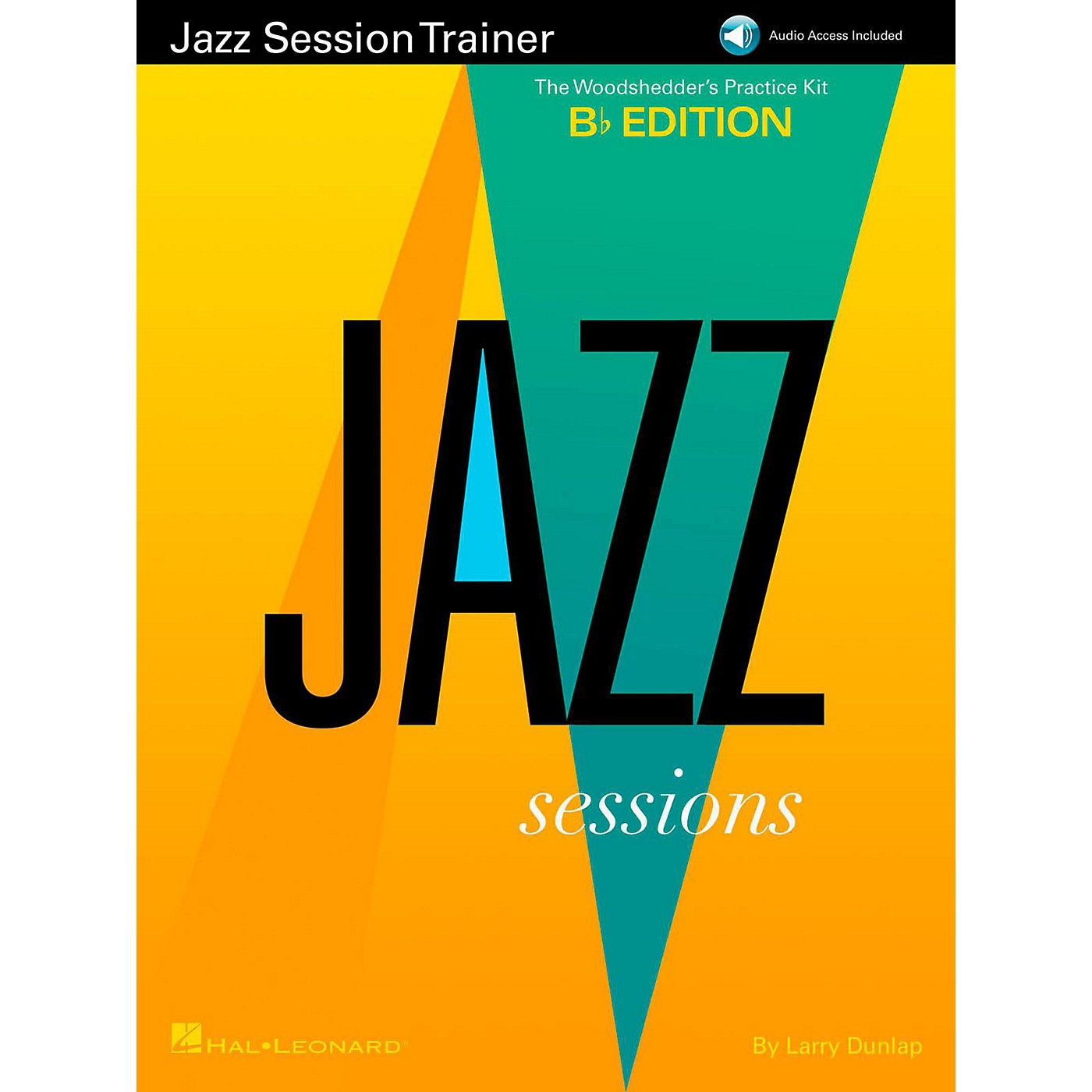 Hal Leonard Jazz Session Trainer - The Woodshedder's Practice Kit  B-Flat Edition (Book/Online Audio) thumbnail