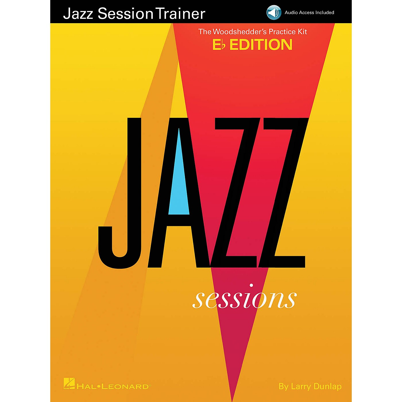 Hal Leonard Jazz Session Trainer Jazz Instruction Series Softcover Audio Online Written by Larry Dunlop thumbnail