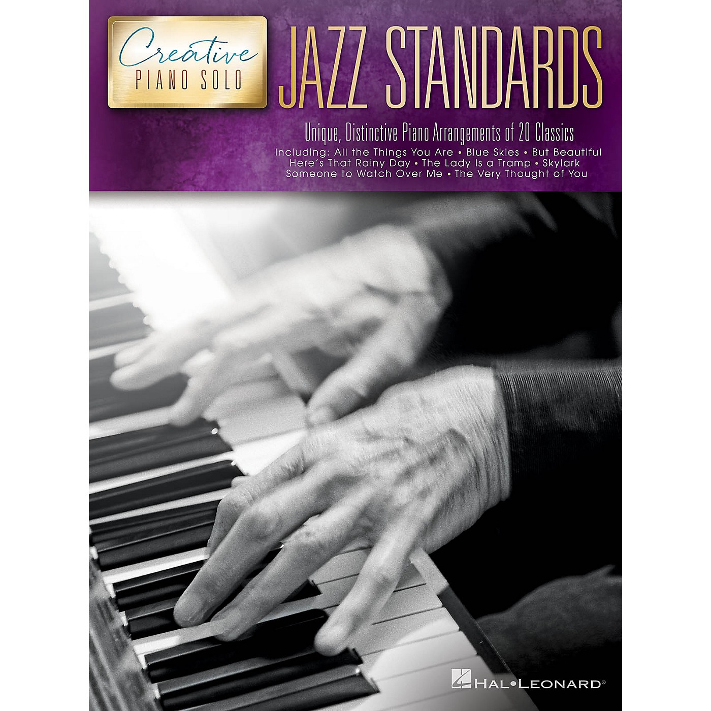 Hal Leonard Jazz Standards - Creative Piano Solo Series Songbook thumbnail