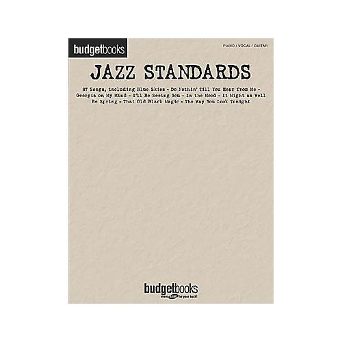 Hal Leonard Jazz Standards Budget Piano, Vocal, Guitar Songbook thumbnail