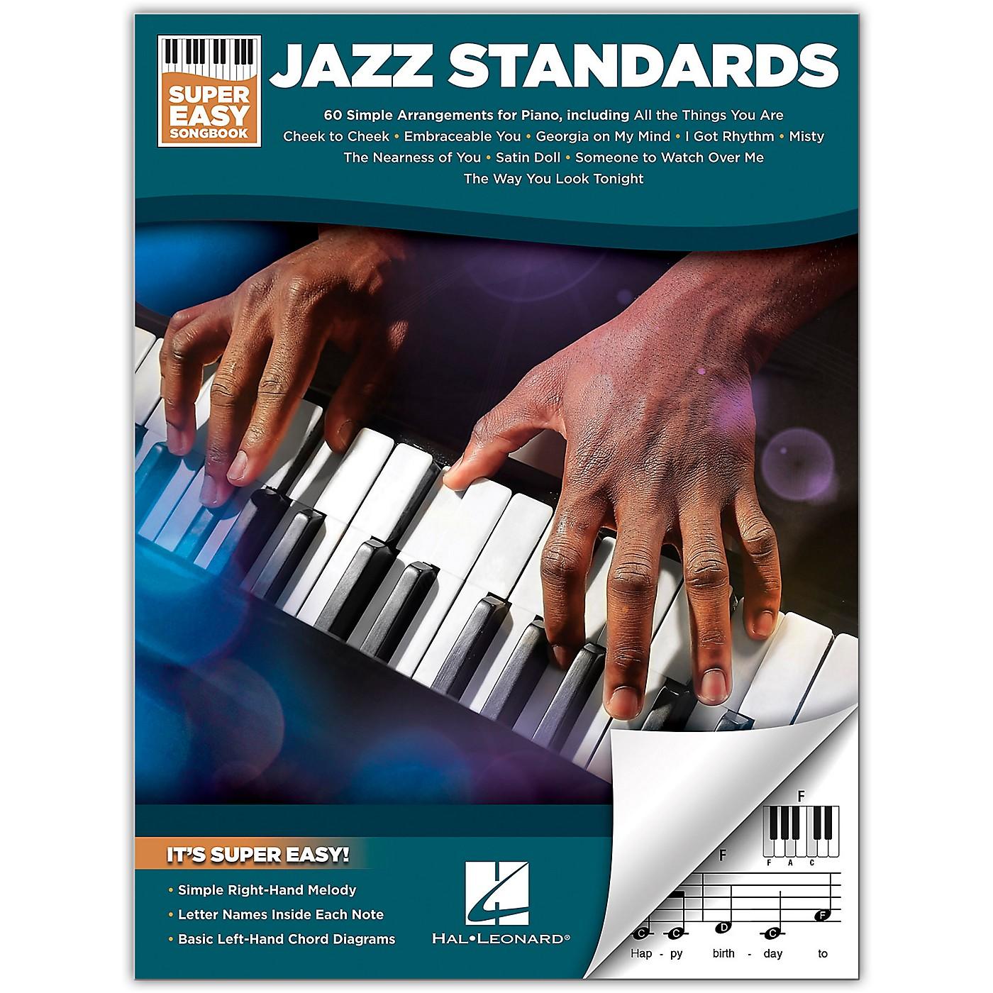 Hal Leonard Jazz Standards-Super Easy Songbook thumbnail