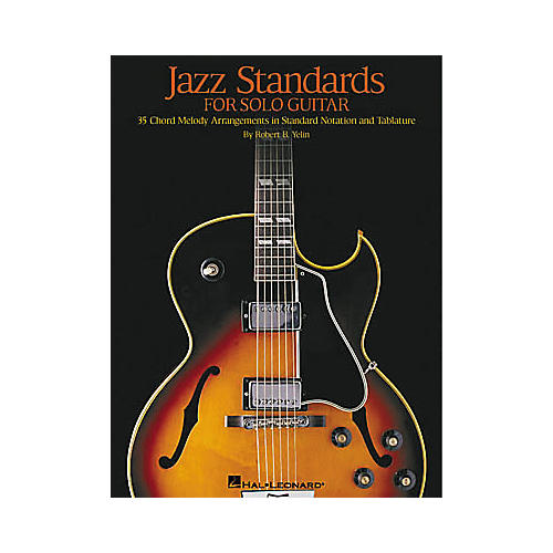Hal Leonard Jazz Standards for Solo Guitar Tab Book thumbnail