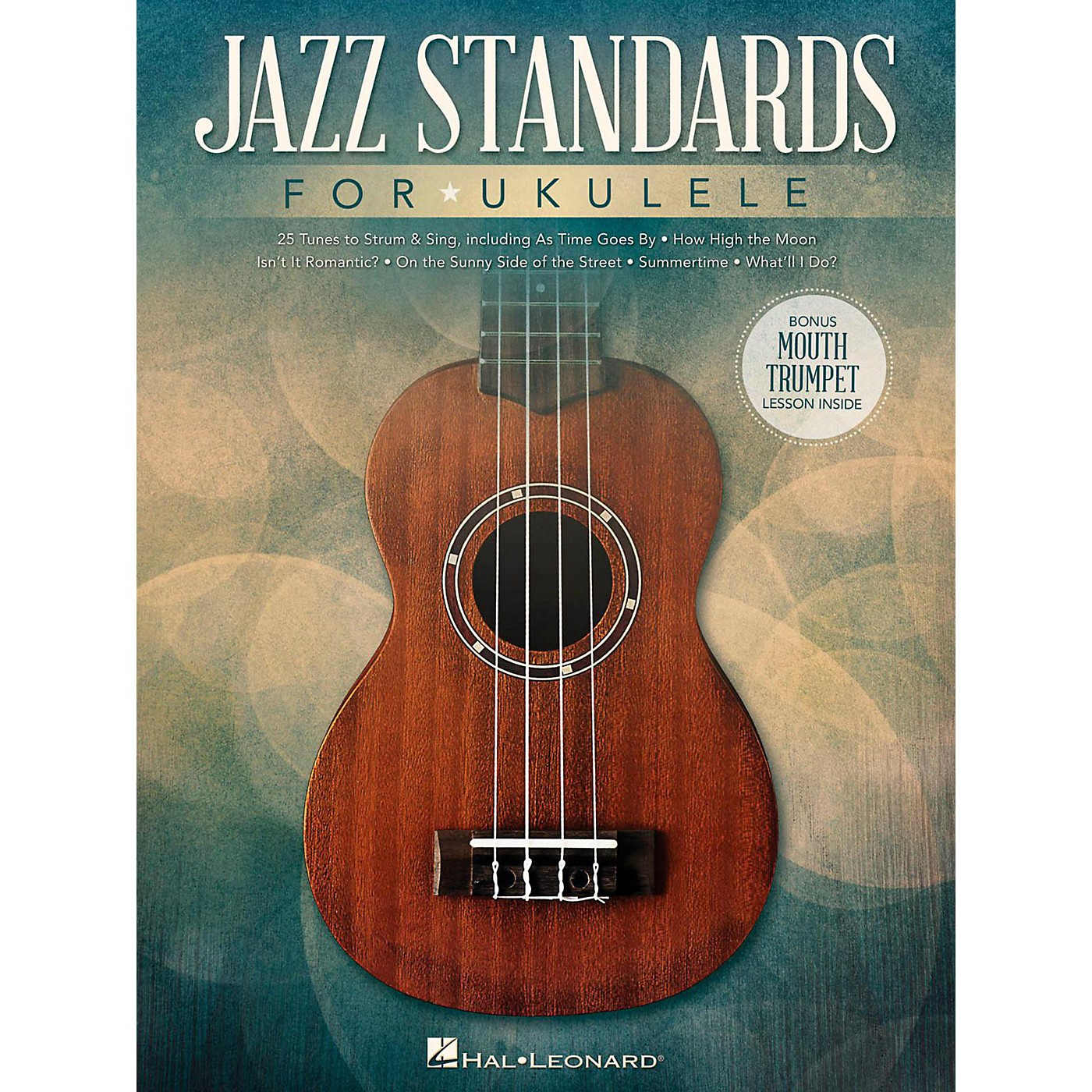 Hal Leonard Jazz Standards for Ukulele (Includes Bonus Mouth Trumpet Lesson!) thumbnail