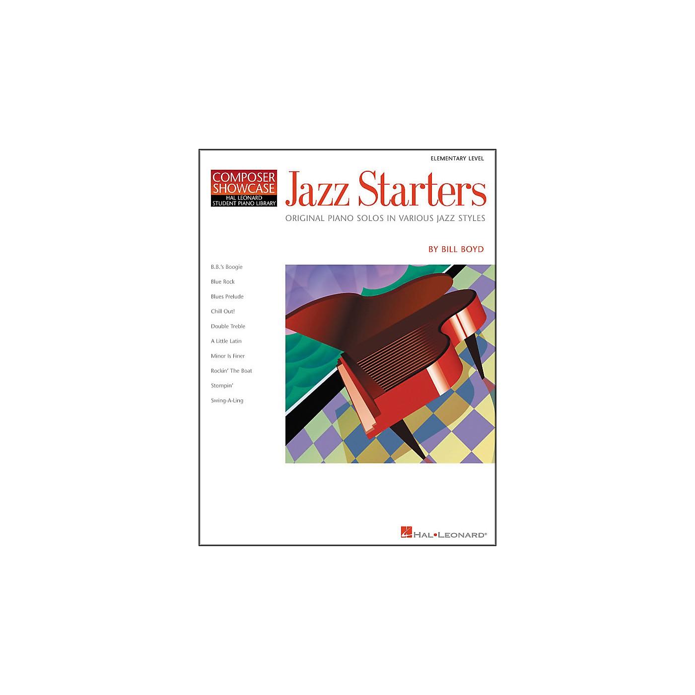 Hal Leonard Jazz Starters Piano Solos Early Elementary Hal Leonard Student Piano Library by Bill Boyd thumbnail