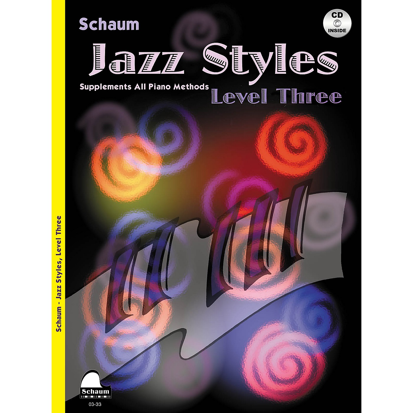 SCHAUM Jazz Styles (Level Three Book/CD) Educational Piano Book with CD by John Revezoulis thumbnail