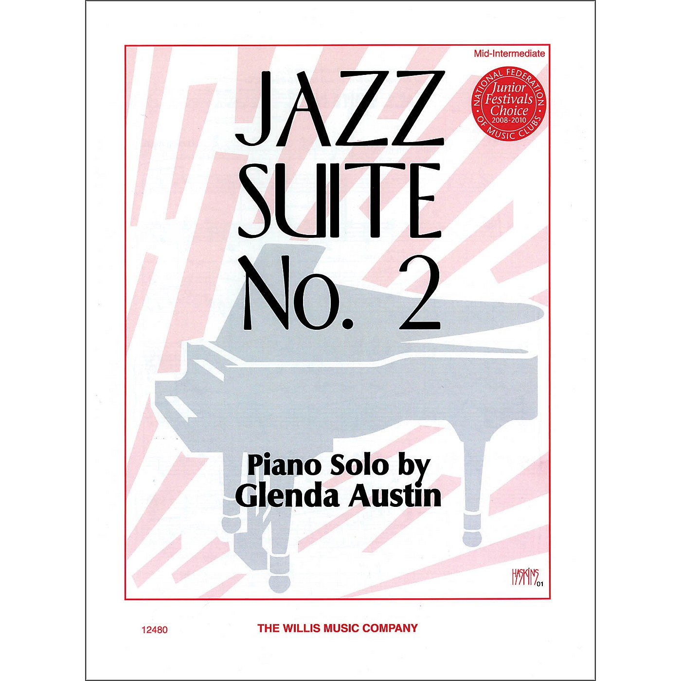 Willis Music Jazz Suite Number Two Mid-Intermediate Piano Solo thumbnail