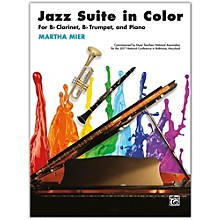 Alfred Jazz Suite in Color B-flat Clarinet, B-flat Trumpet & Piano Intermediate
