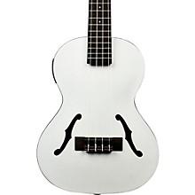 Kala Jazz Tenor Ukulele, Metallic White