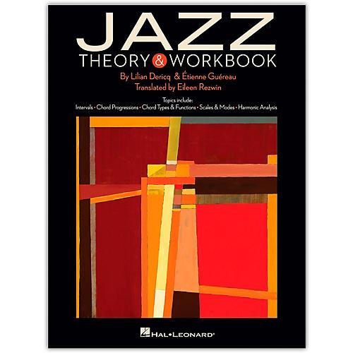 Hal Leonard Jazz Theory & Workbook Music Instruction Series Softcover Written by Lilian Dericq thumbnail
