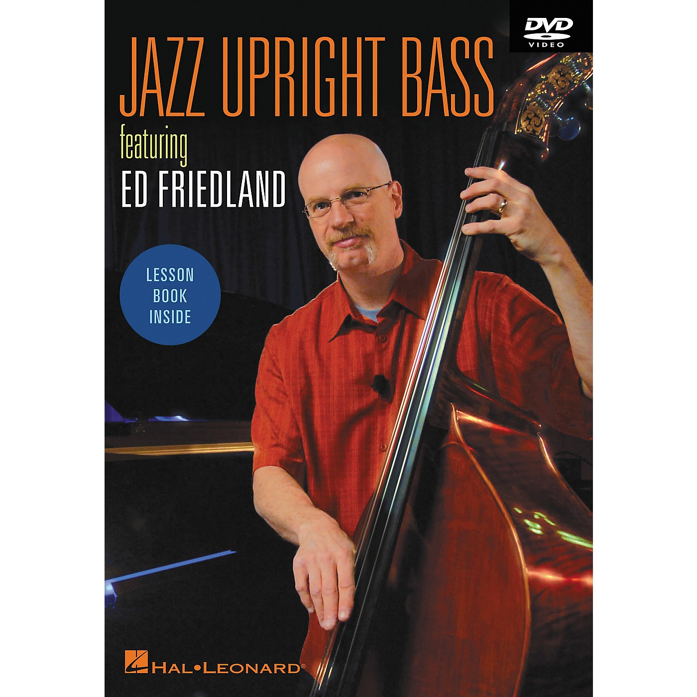 Hal Leonard Jazz Upright Bass DVD Featuring Ed Friedland thumbnail