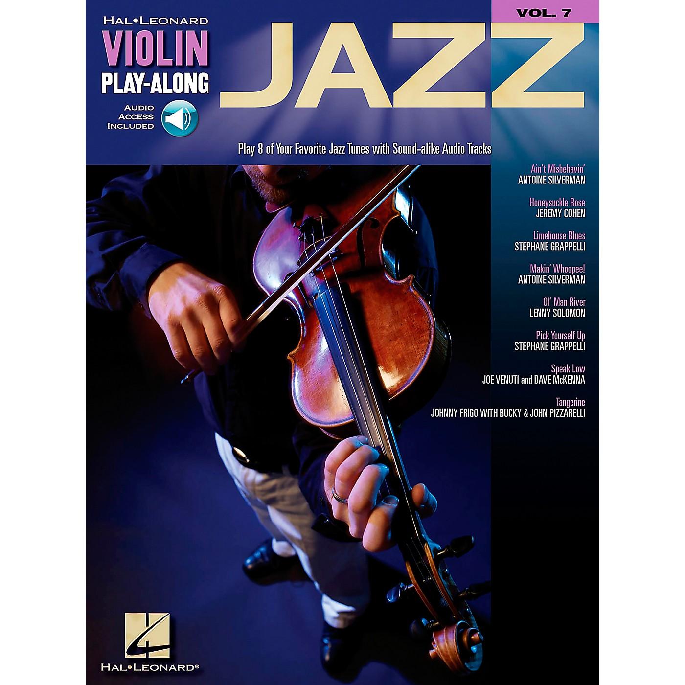 Hal Leonard Jazz Violin Play-Along Volume 7 Book/CD thumbnail