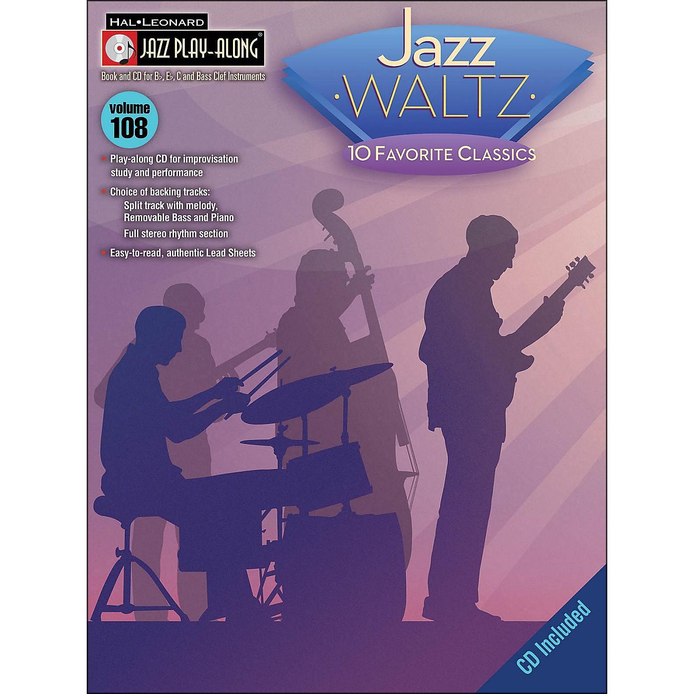 Hal Leonard Jazz Waltz - Jazz Play-Along Volume 108 (CD/Pkg) thumbnail