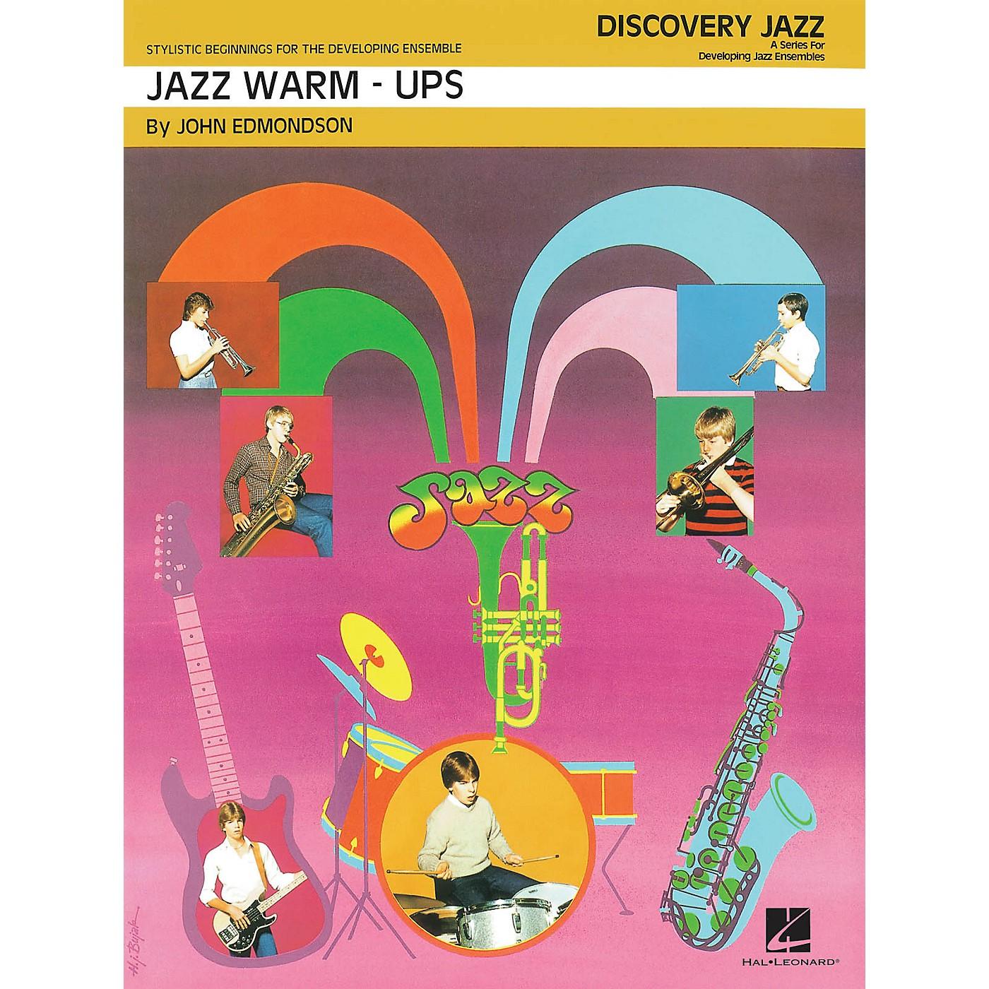 Hal Leonard Jazz Warm-Ups Jazz Band Level 1 Arranged by John Edmondson thumbnail