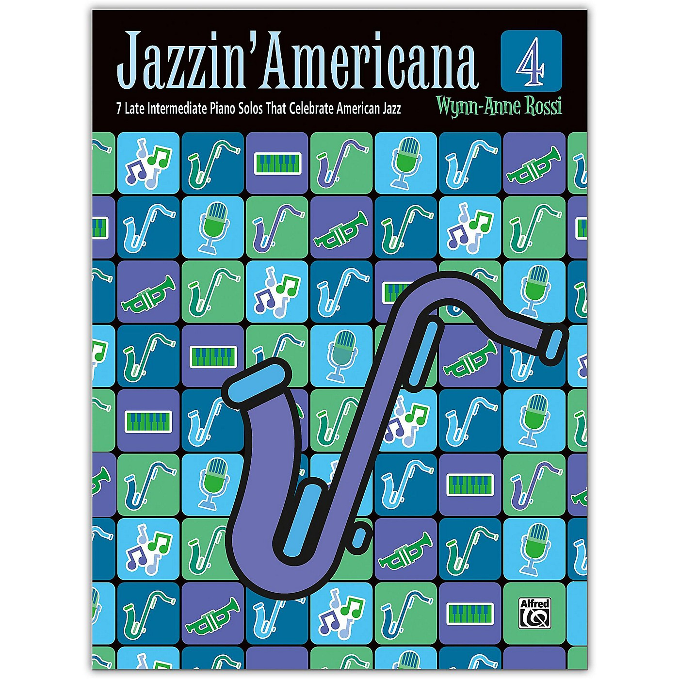 Alfred Jazzin' Americana Book 4 Late Intermediate thumbnail