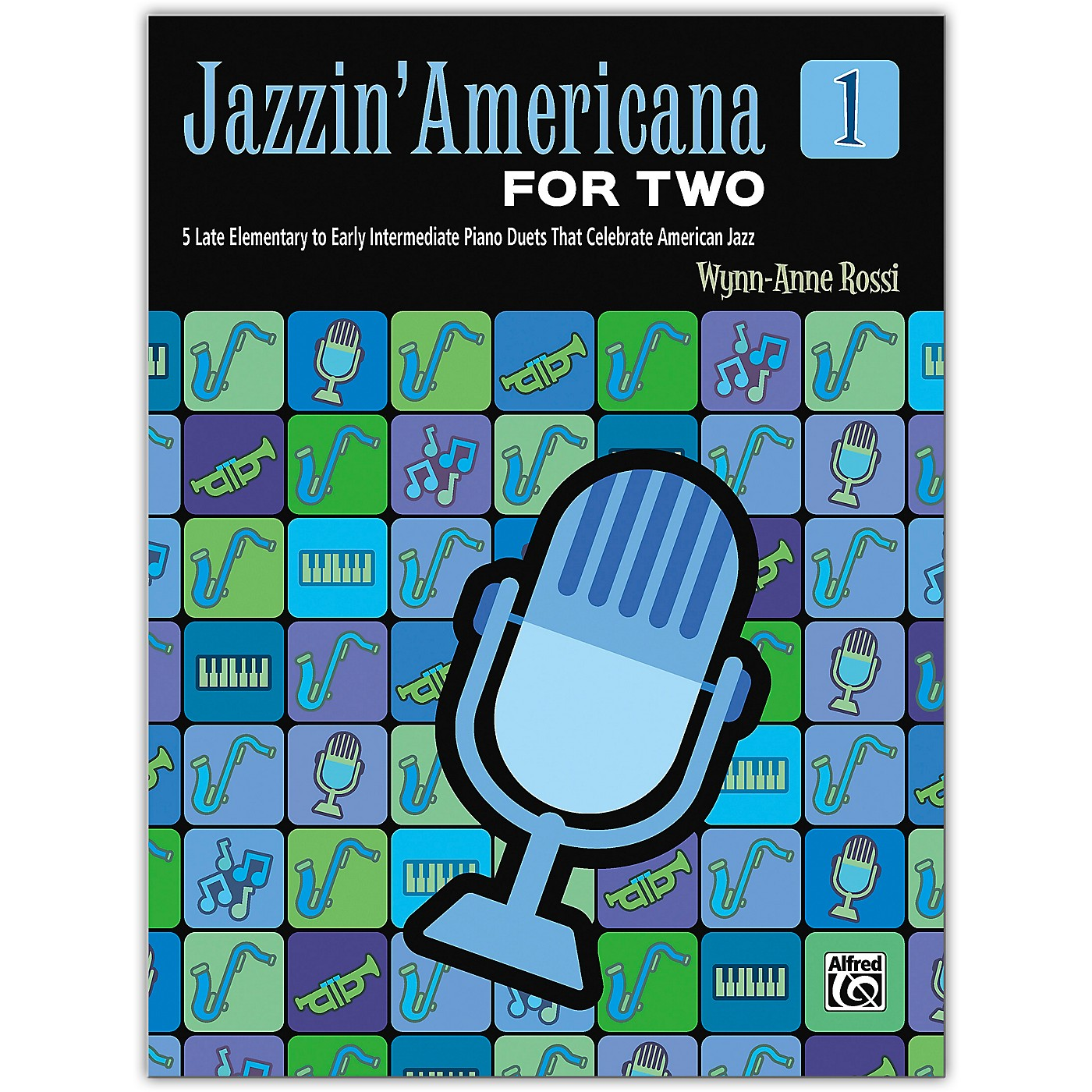 Alfred Jazzin' Americana for Two, Book 1 Late Elementary / Early Intermediate thumbnail