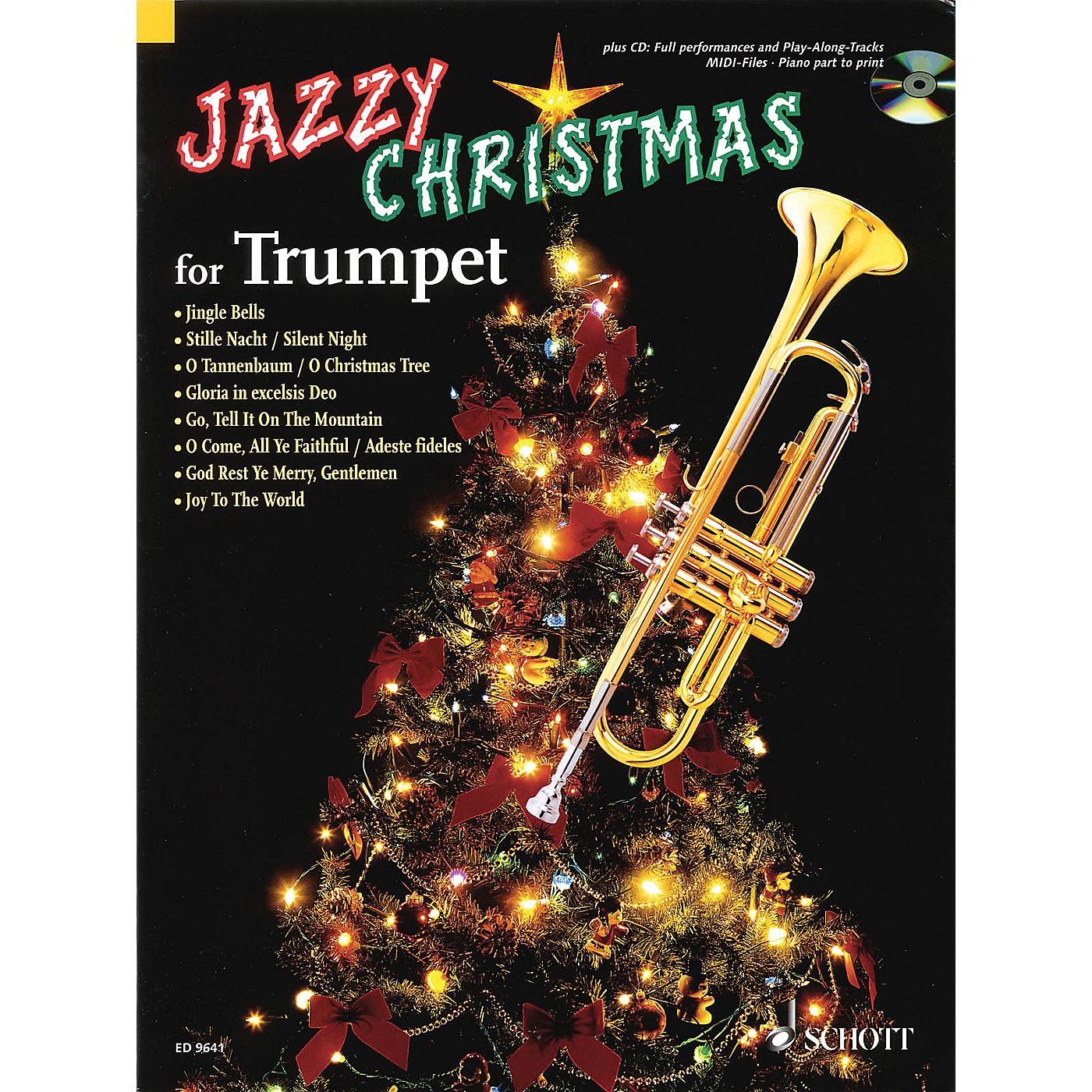 Schott Jazzy Christmas Schott Series Softcover with CD thumbnail
