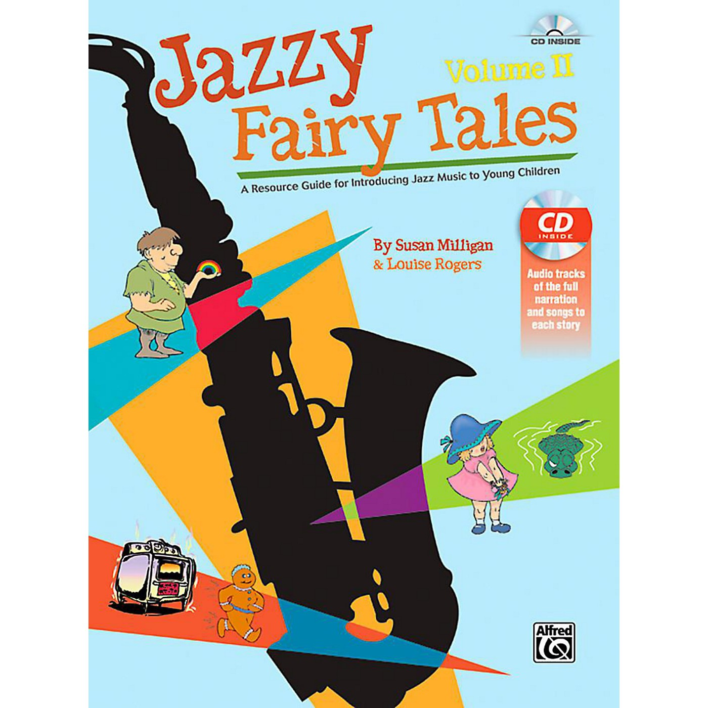 Alfred Jazzy Fairy Tales, Volume II - Book & CD thumbnail