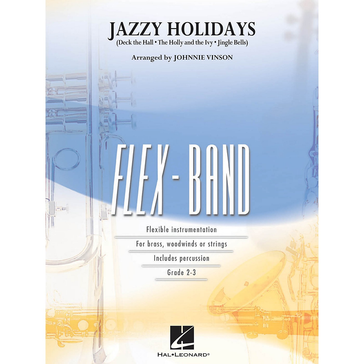 Hal Leonard Jazzy Holidays - Flex-Band Series thumbnail