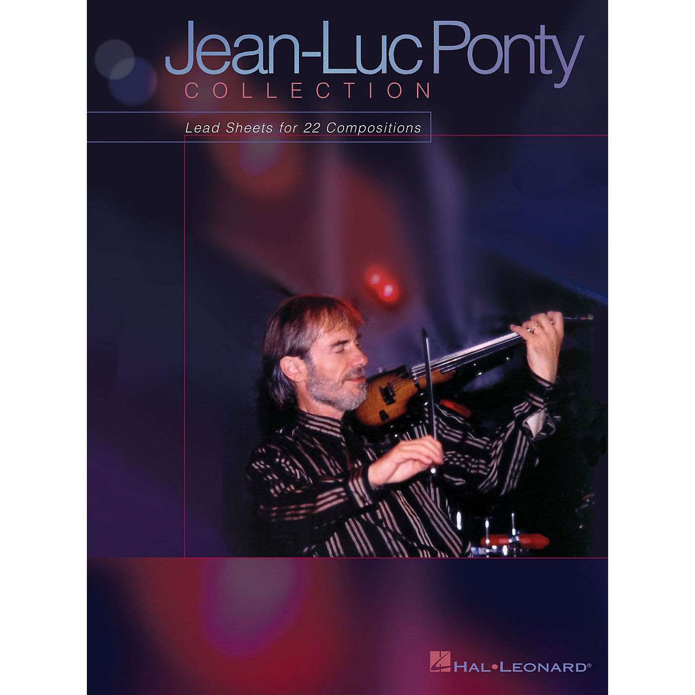Hal Leonard Jean-Luc Ponty Collection (Lead Sheets for 22 Compositions) Artist Books Series by Jean-Luc Ponty thumbnail